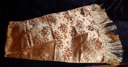 Kínai selyem brokát stóla/terítő
