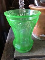 Uránuöld biedermeier pohár
