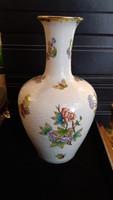 Herendi nagyméretű, hibátlan váza, tökéletes állapotban.27 cm