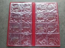 Érmeberakó album 4x8 db 45 mm-es fészekmérettel (id46786)