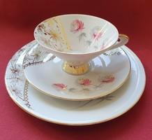 Bavaria porcelán reggeliző szett  (csésze, csészealj)