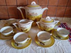 Francia teáskészlet