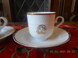 Hollóházi Douwe Egberts kávés csészék