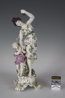 Sevres porcelán  figura
