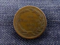Mária Terézia szép 1 Krajcár 1780 W (id5308)