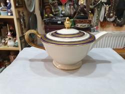 Régi német porcelán teás kanna