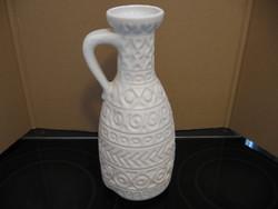 Retro Bay Germany fehér váza