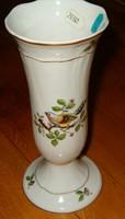 Nagyméretű Hollóháza díszes vadászos virág váza nagyon szép porcelán hollóházi madárkás