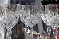 Francia  ólomkristály   boros poharak
