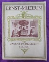 1926 - Magyar Iparművészet Emlékei - Csányi Károly - 42 oldal és az illusztrációk - jó állapot