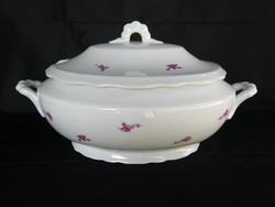 Zsolnay porcelán leveses tál