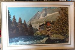 Svájci táj kép