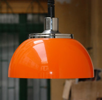 Retro narancssárga állítható magasságú mennyezti lámpa - Harvey Guzzini - Meblo Faro 2240