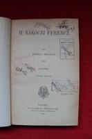 II. Rákóczi Ferenc I-II-III. kötet (írta: Jósika Miklós,1852)