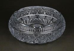 1D520 Vastagfalú ólomkristály hamutál 1.67 kg