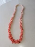 Eredeti 3 soros préselt színes lazac korall