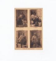 Vallási képeslap 1930
