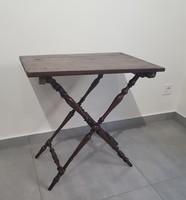 Neobarokk összecsukható asztal 15eft.!!!