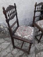Régi antik reneszánsz székek ,  új kárpittal