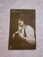 Régi Mignon képeslap 1916 levelezőlap