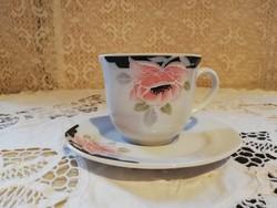 Eladó régi porcelán Bavaria virágos kávés duó!