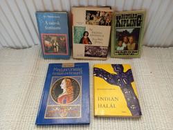 Retro,régi vegyes könyvek