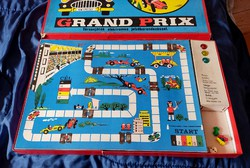 Retro Grand Prix játék forma1 autós társasjáték