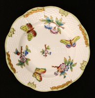 Herendi Viktória mintás süteményes tányér 4 db, 19 cm