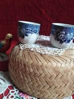 Angol pohár rövid italos párban