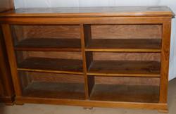Antik Bieder szekrény polcos