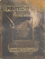Budapesti Malomgépészeti és Gépgyár Podvinecz és Heisler főárjegyzék