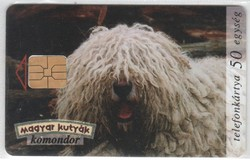 Magyar telefonkártya 0635 1996 Komondor  ODS 1      200.000  darab