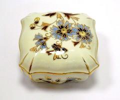 Zsolnay búzavirágos bonbonier (ZAL-BI40547)