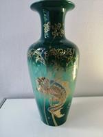 Zsolnay pecs hibatlan fisch vase 27 cm