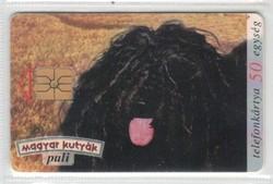 Magyar telefonkártya 0641 1996 Puli   GEM 1       160.000 darab