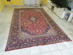 Iráni keshan 192x305 kézi gyapjú perzsa szőnyeg MM_705 ingyen posta