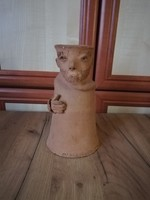 Terrakotta szobor Marosvölgyi Ágnes
