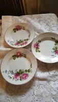 Virágos fali tányérok- Cseh ?-