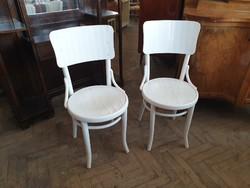 Régi vintage 2 db fa szék