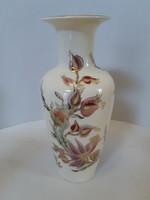 Zsolnay íriszes  v. liliomos váza hibátlan