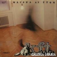 """""""Macska az úton""""- KFT. lemez (LP) Retro lemez jó állapotban"""