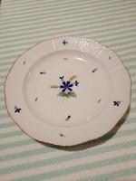 Herendi búzavirágos tányérok, 4 db egyben.