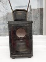 Antik vasutas lámpa