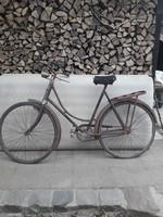 Retro férfi Csepel kerékpár