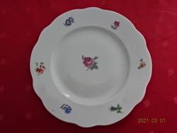Zsolnay porcelán, antik, pajzspecsétes süteményes tányér, átmérője 18 cm.