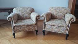 Eladó 2 db jó állapotú XX. sz-i fotelek/2 armchairs for sale from 20th century