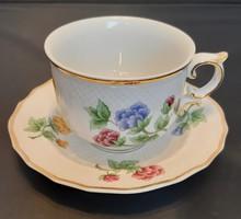 Hollóházi porcelán 16 részes teás készlet