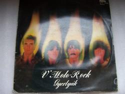 V'Moto-Rock Együttes: Gyertyák (1982)  A borító kicsit sérült, de a lemez szép állapotú