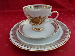 Winterling bavaria német porcelán reggelizőszett. Csésze magassága 7,5 cm.