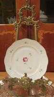 Herendi bécsi rózsás tányér -süteményes tányér Tertia